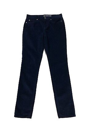 Navy Cord Pants - GAP Pants Womens Size 4/27 Always Skinny Cords Stretch Navy Blue Corduroy