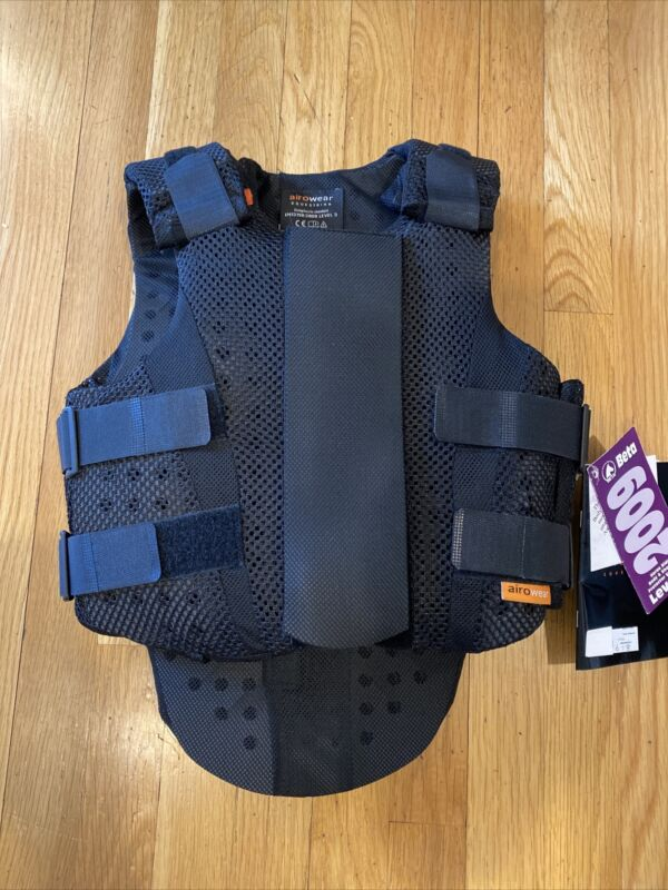 NEW Airowear Teen AirMesh 2 Vest Black T1 Short