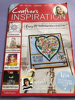 CRAFTERS INSPIRATION MAGAZINE ISSUE 15 AUTUMN CRAFTERS COMPANION &SARA DAVIES