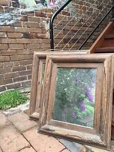 Two wooden mirrors Sydenham Marrickville Area Preview