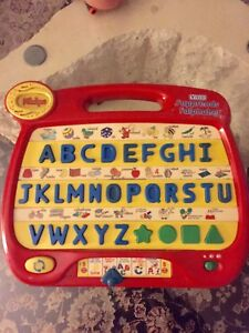 Baby learning alphabet toy