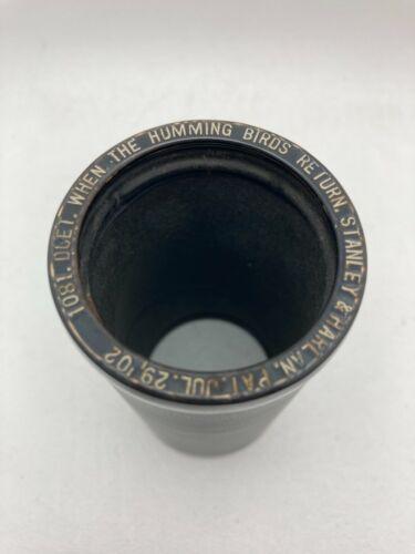 """Indestructible Phonograph Cylinder #3225 """"Gesundheit - Waltz"""""""