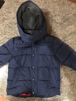 Gap Boys Navy Coat Age 3