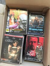 Two boxes full of dvd's Moore Park Inner Sydney Preview