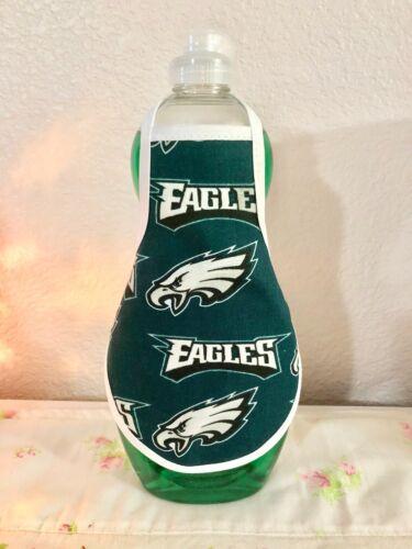 Philadelphia EAGLES NFL Kitchen Dish Soap Lotion Bottle Apron - fits 25 oz.
