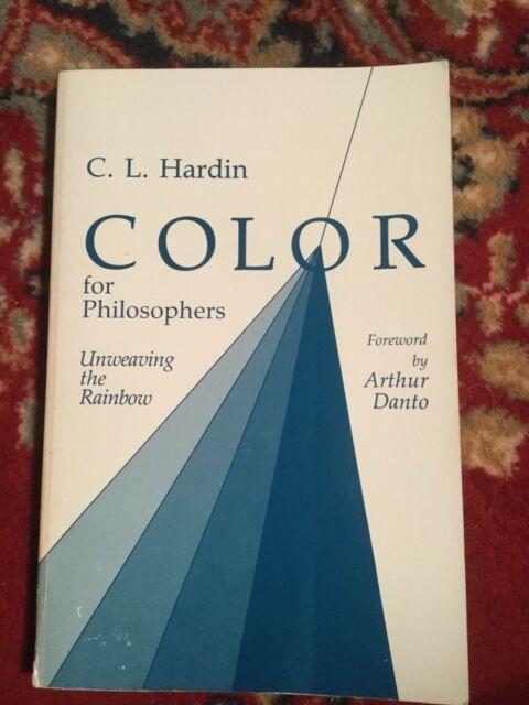 Good Condition Color For Philosophers 1988 Paperback Book C. L. Hardin FREE P&P