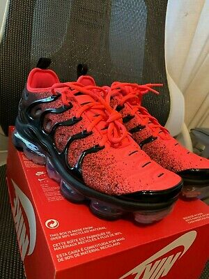 NIKE AIR VAPORMAX PLUS - UK 8 - 100% NEW DEADSTOCK - CJ0642-001