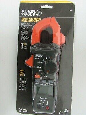 Klein Tools Cl220 400 Amp Ac Auto-ranging Digital Clamp Meter Sealed