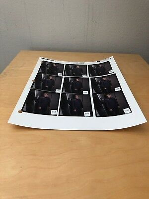 Star Trek Enterprise Contact Sheet Jonathan Archer Scott Bakula Original