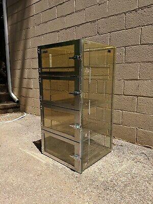 Terra Universal 4 Chamber Desiccator Dry Box 24 X 24 X 48 Cb 20