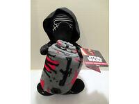 "Star Wars Force Awakening Stormtrooper Plush Fleece Throw Blanket 46/""x60/"" Disney"
