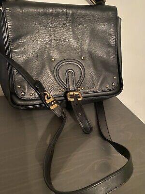Black Chloe' Shoulder Bag