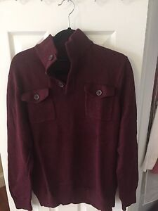 Banana Republic Double Button Pull Over - Never Worn
