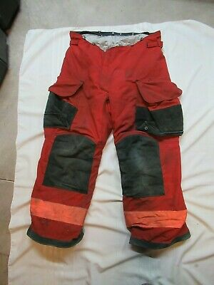 Lion Janesville 38r Firefighter Turnout Bunker Gear Pants Rescue Towing