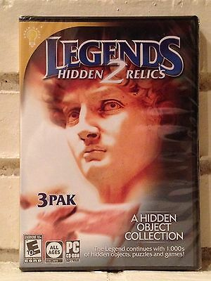Computer Games - legends 2 --- 3-pack of hidden object adventures --- computer games --- new