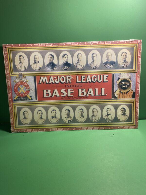 Metal Sign 1913 Major League Indoor Baseball Ty Cobb Vintage Look 10x14  (b21)