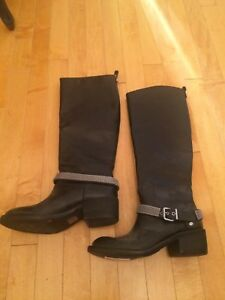 Bcbg leather boots new size 5