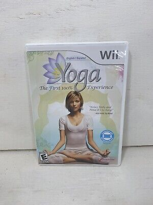 Wii YOGA (Nintendo Wii, 2009) Complete CIB Great Condition Fast Shipping