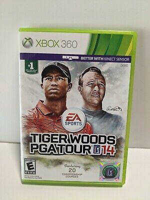 Tiger Woods PGA Tour 14 (Microsoft Xbox 360, 2013) Tested