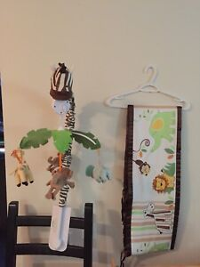 Breathable crib bumper pads and Mobile
