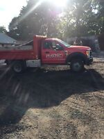 Delivery of mulch soil manure stone and sand