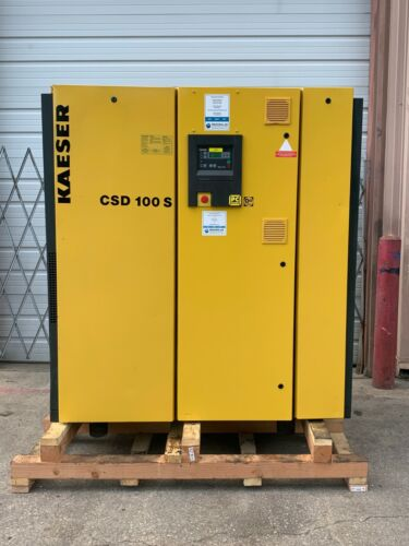 100Hp Kaeser Screw Compressor #1347
