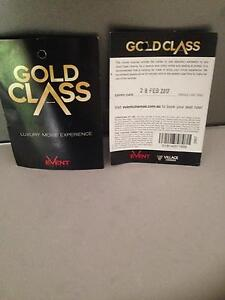 Gold class tickets x2 Kingsley Joondalup Area Preview