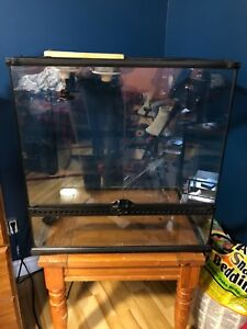 Snake or lizard tank and accessories 200 OBO first offer takes
