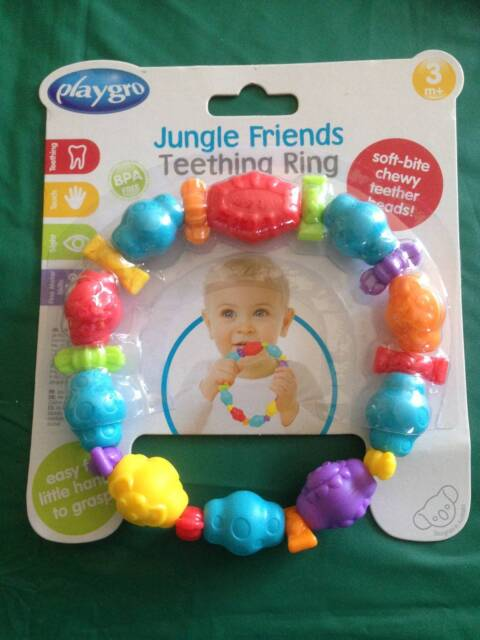 NEW PLAYGRO TEETHING RING  f4a9ed1ef