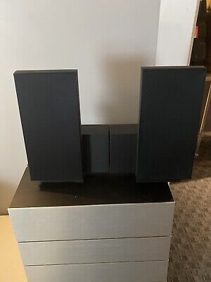 Bang & Olufsen Beolab 2500 Speakers With Black Cover