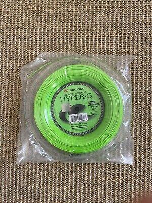 Solinco Hyper G 16L Reel 1.25mm Tennis String: Full 200m// 656ft Unused New