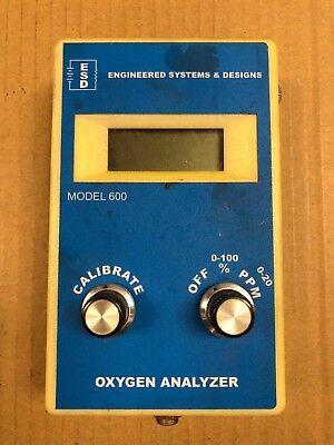 Engineering Systems Designs Model 600 Oxygen Analyzer