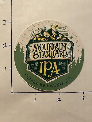 """Odell Brewing Company """"Mountain Standard IPA"""" Sticker...AWESOME!!!"""