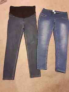 4 Pairs of Maternity Wear Jeans and Pants Yarraville Maribyrnong Area Preview