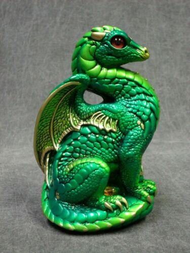 Windstone Editions NEW * Emerald Bantam Dragon * Statue Figurine Fantasy