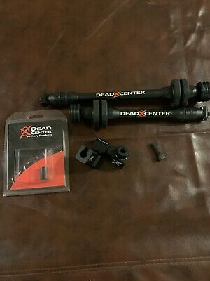 Dead Center Dead Silent Carbon V2 Stabilizers Black 8 and 10 in.