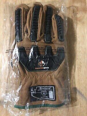 Superior Endura Gloves Xl Impact Protection Ansi 4  - New