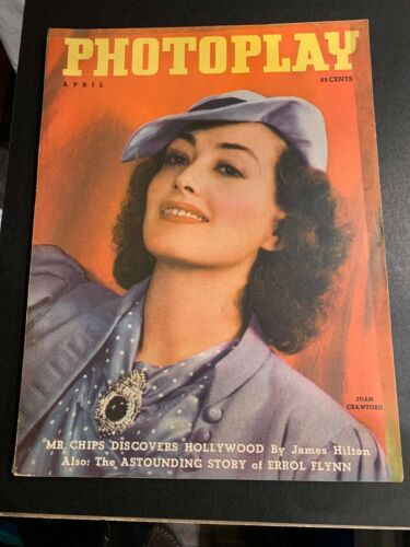PHOTOPLAY MAGAZINE - APRIL 1936 JOAN CRAWFORD