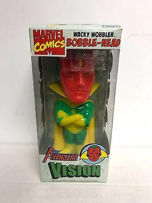 Avengers VISION Marvel Comics Wacky Wobbler Bobblehead Funko