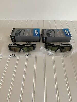 2 Samsung SSG-3100GB Active 3D Glasses Lunettes Accessory for Smart TV