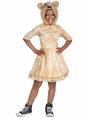 Nala Lion King Halloween Costume (Disney Girls Live Action Lion King Nala Halloween Hooded Dress)