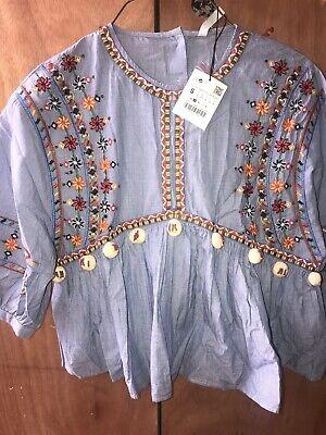 Zara blouse Zara top Small