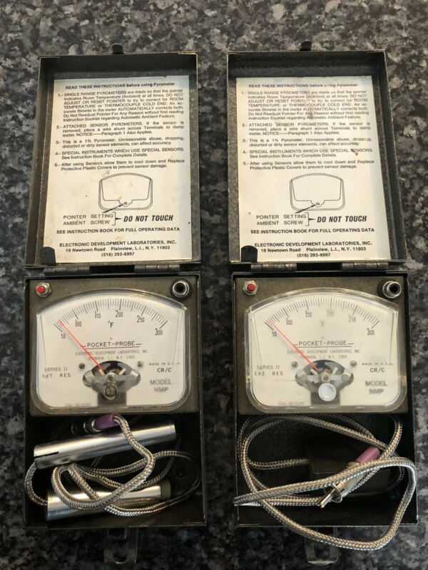 Pocket Probe Pyrometer Series II Model NMP