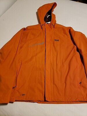 Helly Hansen HH  Waterproof Rain Jacket Hoodie Hooded Men's L- EUC