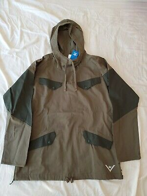 Adidas x White Mountaineering Japan Olive Green Pullover Jacket BQ4126 size M