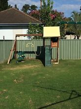 Kids swing set and cubby house combo Wattle Grove Liverpool Area Preview