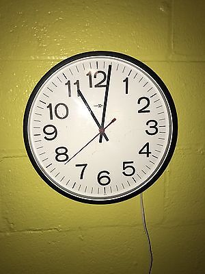 HOWARD MILLER GEORGE NELSON WALL CLOCK EAMES 622-820 for sale  Green Bay