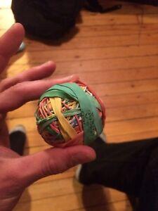 Elastic bouncy ball
