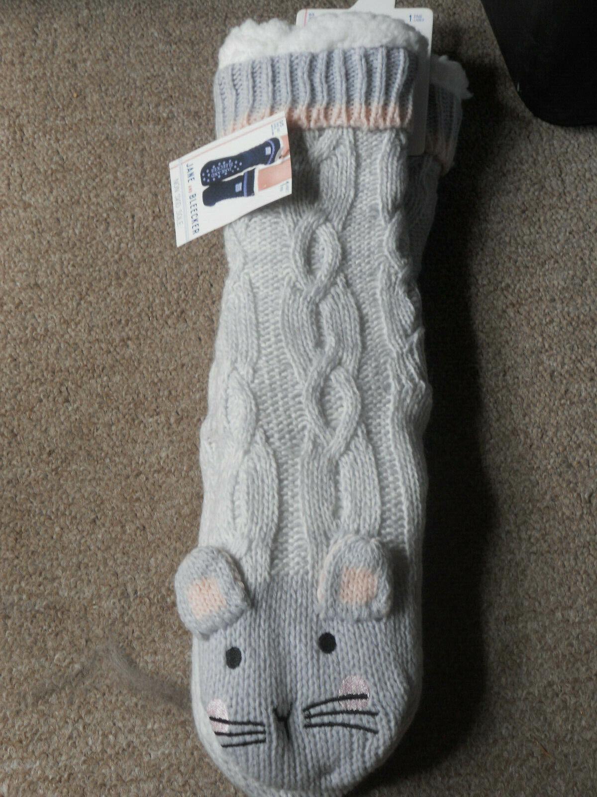nwt non skid slipper socks sz 5