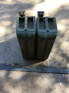 Metal jerry cans Stoneville Mundaring Area Preview